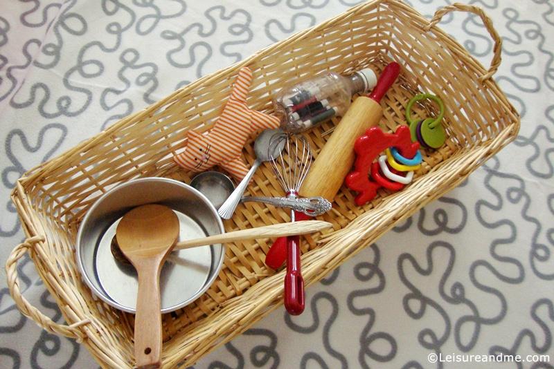 Baby Treasure Baskets - Noisy