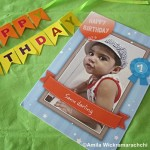 Personalized First Birthday Greeting Cards
