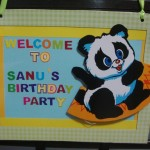DIY Birthday Party Door Banner