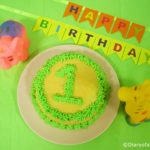 DIY Cake Bunting Topper for Birthdays
