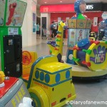Kiddie Rides at Amk Hub-Singapore