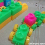 Toddler Play Time:Playing with Building Blocks