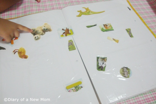 DIY Sticker Book for Toddlers