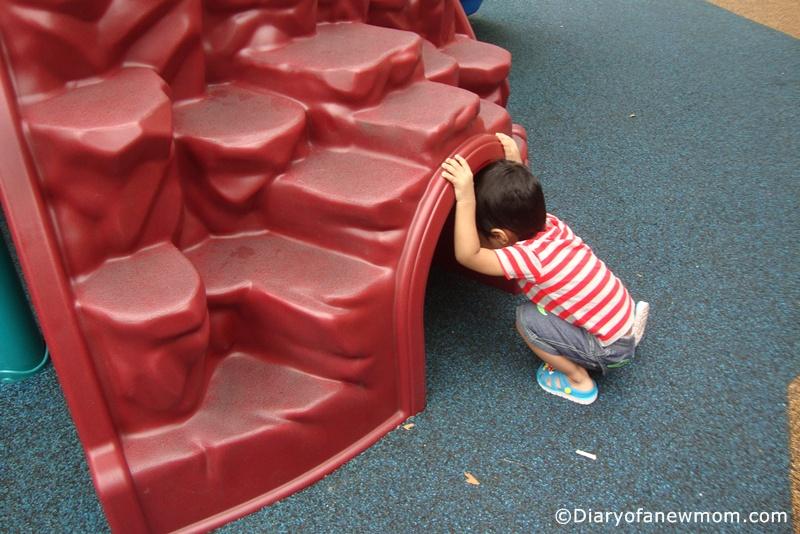 At the Ang Mo Kio Central Playground