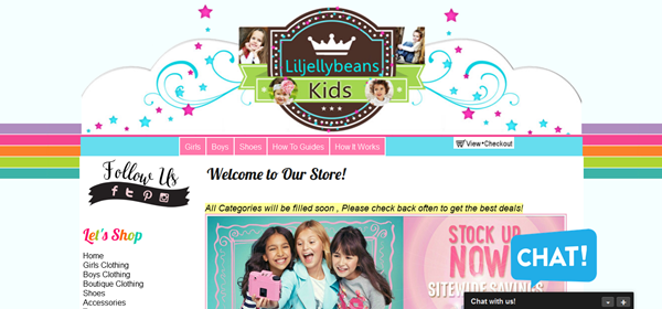 liljellybeans -Kids online consignment store