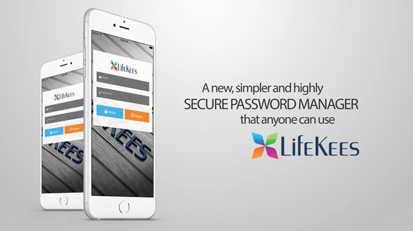 Lifekees – A Password Manager for life