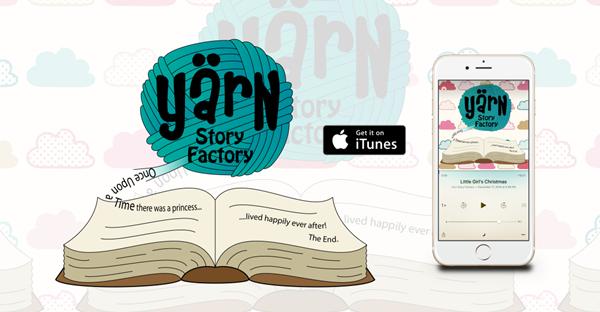 Yarn Story Factory-kids podcast