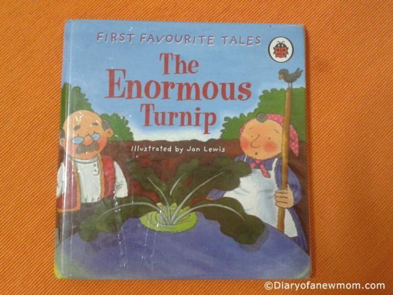 The Enormous Turnip -book review