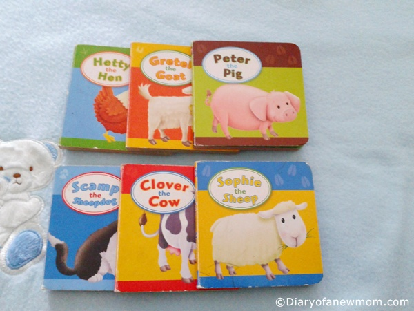 Best Books for toddlers Farm Animals-Pocket Library