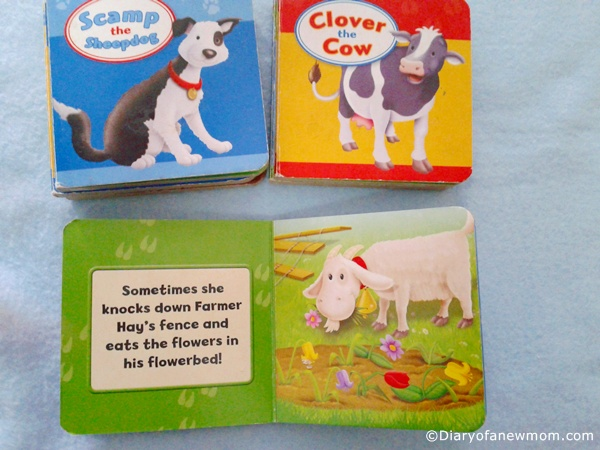 Farm Animals-Pocket Library