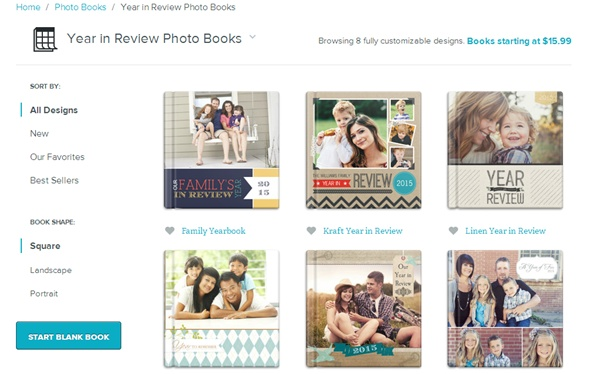 How to create a family photo book