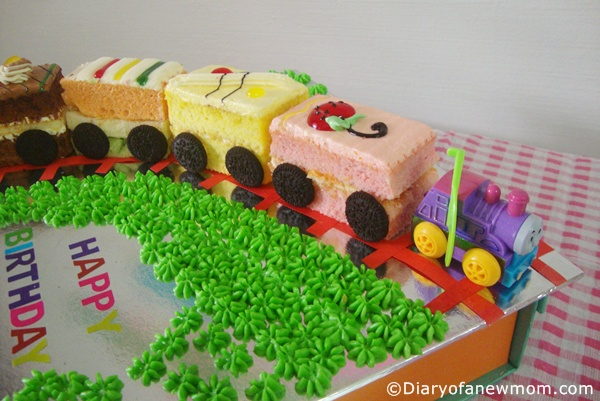 Train-birthday-cake