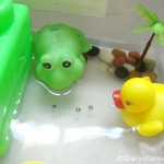 Frog Life Cycle freebie + Teaching Science for a Toddler