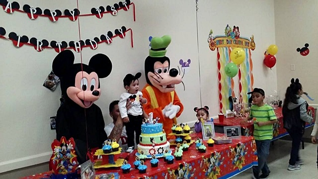 Planning a Birthday Party with Mascots