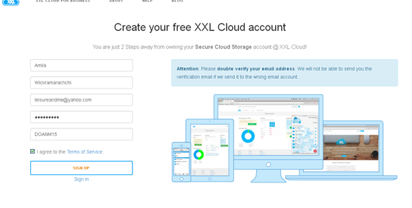 XXL Box-Secure-cloud-storage-review