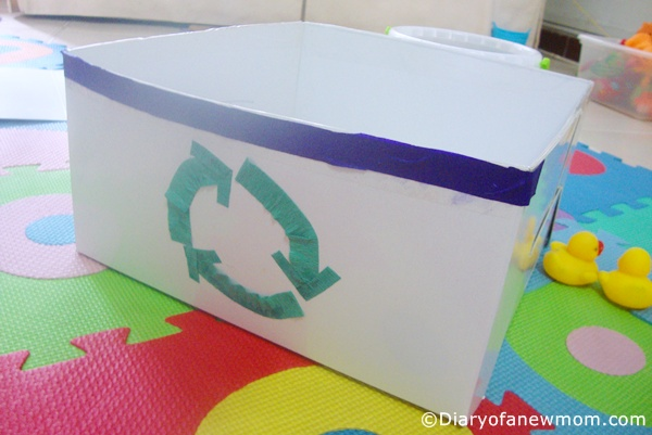 Repurpose Old Cardboard Boxes