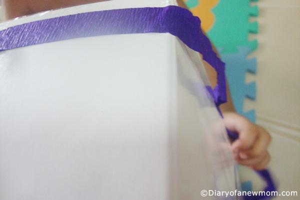 DIY Recycling Bin for kids