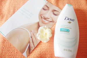 Dove Sensitive Skin nourishing body wash – review