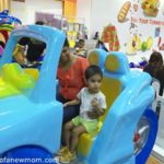First Kiddy Ride at Johor Bahru