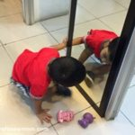 Playing with a Mirror (Mirror Activities for Toddlers)