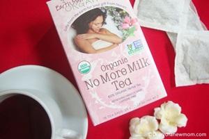 How I stopped breastfeeding with Earth Mama Angel Baby Organic No More Milk Tea