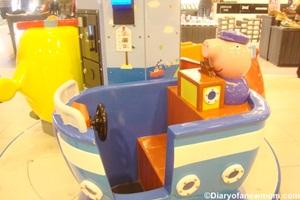 Peppa Pig Kiddie Ride at Ang Mo Kio