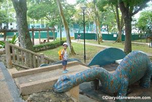dinosaurs in Singapore
