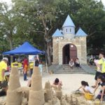 Sandcastles at East Coast Park-Singapore