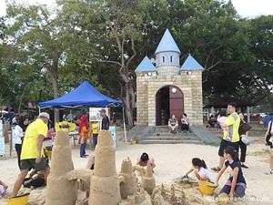 Sandcastles at East Coast Park-Singapore