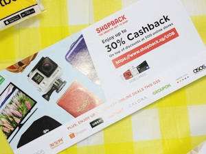 shopping discounts at ShopBack