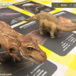 With Dinosaurs 4D+ flashcards watch the Dinosaurs in Augmented Reality