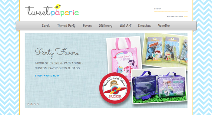 Tweet Paperie for Unique Personalized Gifts in Singapore