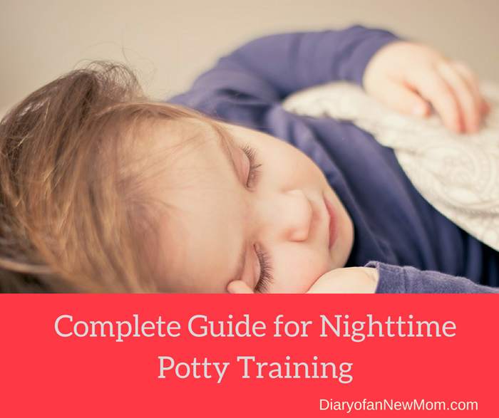 How to potty train at night