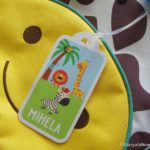 Personalised Name Labels from Bright Star Kids  #Review