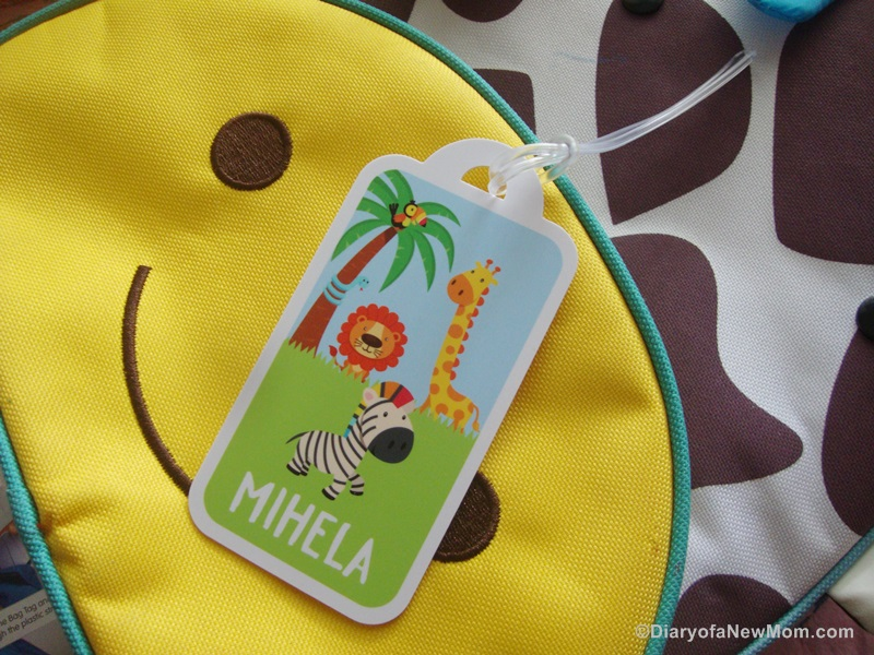 Bright Star Kids-personalized-bag-tag