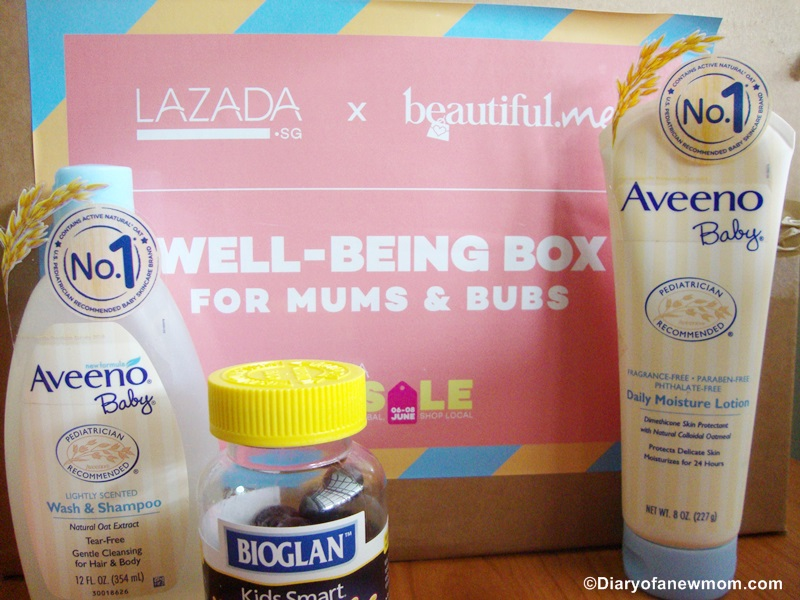 LAZADA GSS Sale +Reveal of Lazada x Beautiful Me Mum & Bubs Box