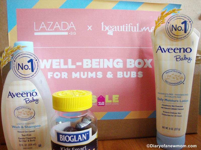 LAZADA GSS Sale +Reveal of Lazada x Beautiful Me Mum & Bubs Box