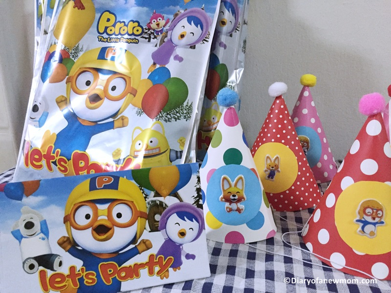 Pororo themed Birthday Party