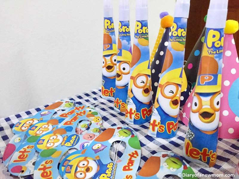 Pororo themed party