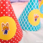 DIY Birthday Party Hats for a Themed Birthday Party