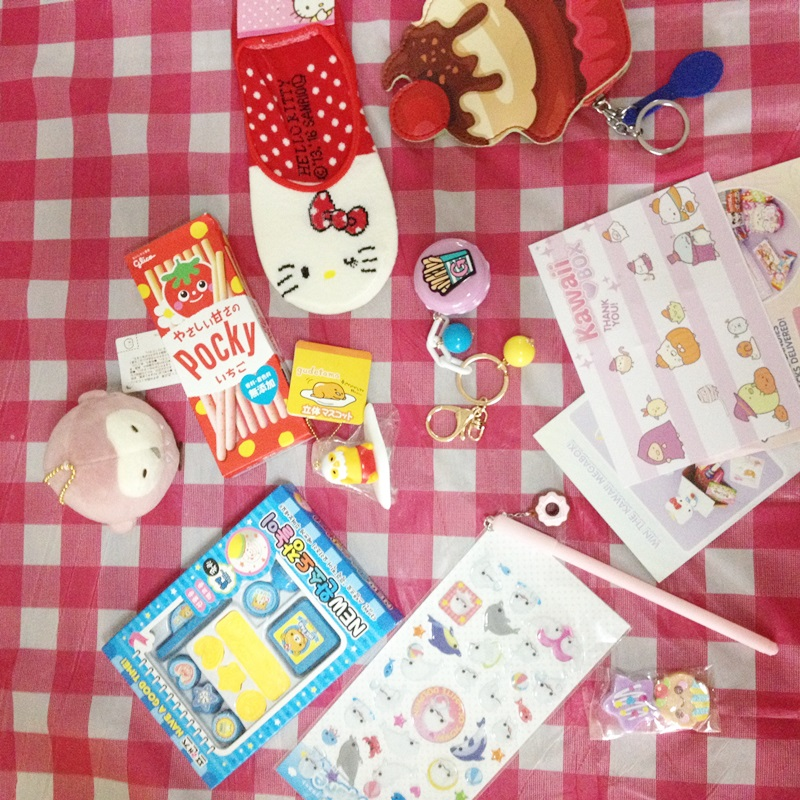 Kawaii Box Review : Cutest Subscription Box from Japan