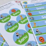 Back To School with Bright Star Kids Name Labels