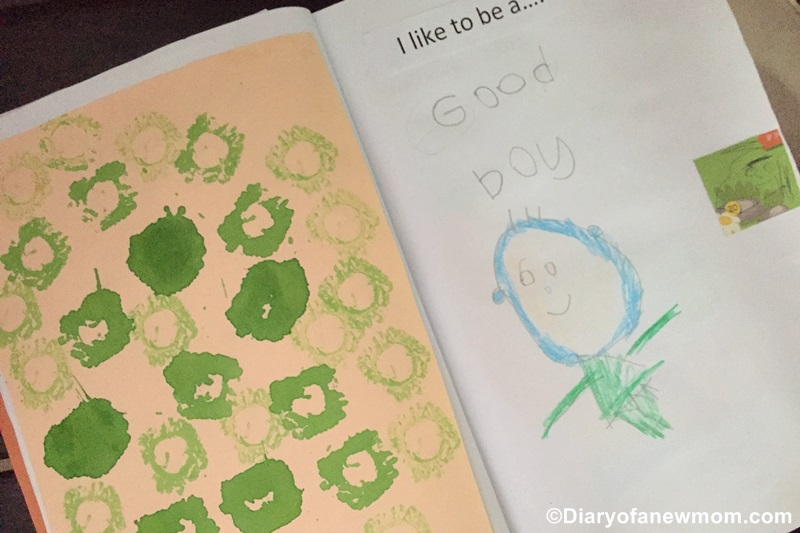 All About Me Book for Preschool