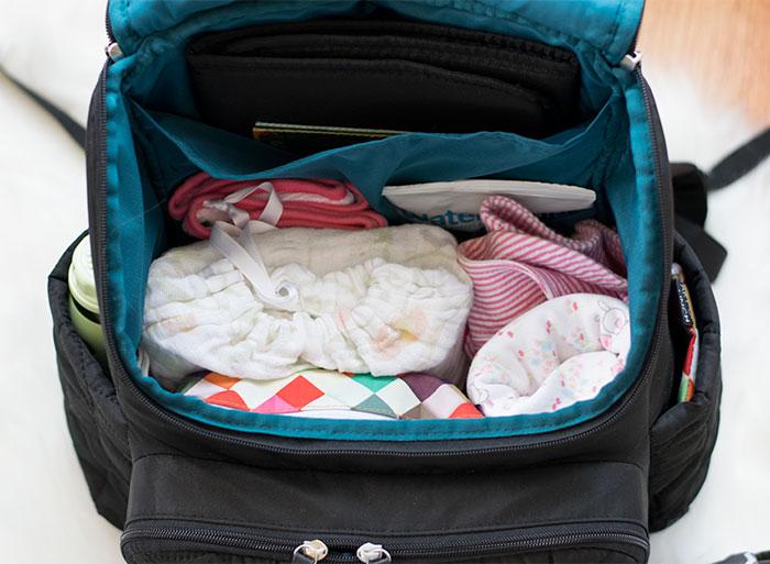 Diaper Bag Hacks for Working Moms