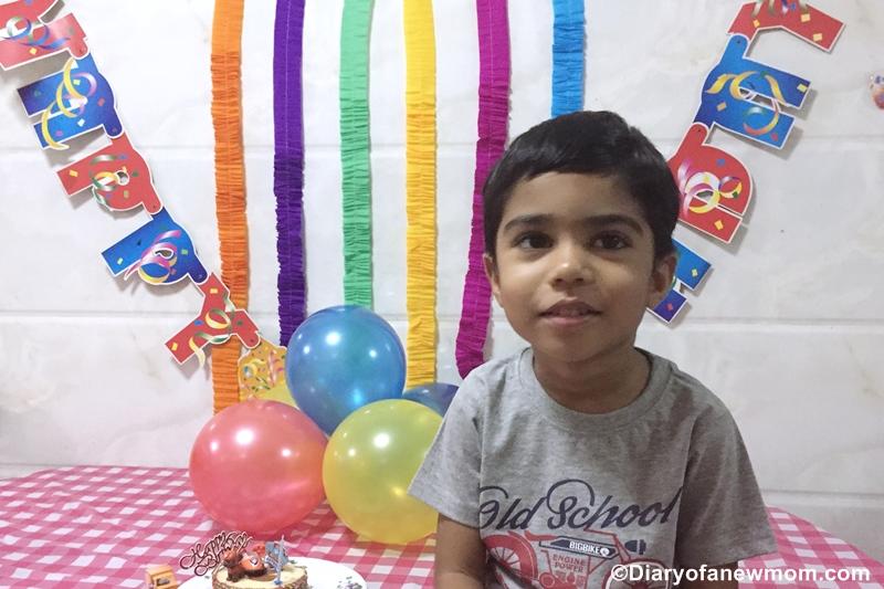 Paw Patrol Birthday Party for 4th Birthday
