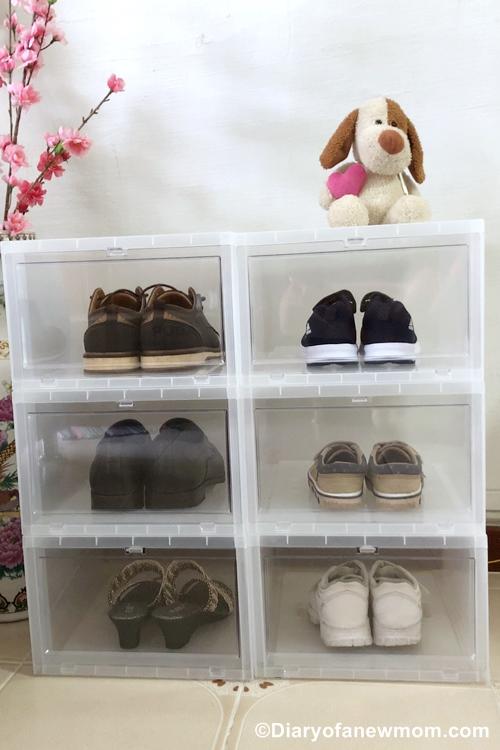 ADOR Drop Front Shoe Box