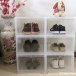 ADOR Shoe Box Review : Drop Front Shoe Box from Masons Home Decor