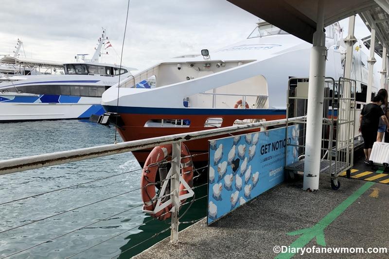 Batam by ferry