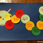 Counting by Tens Caterpillar Craft for Preschool