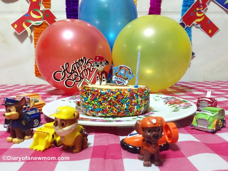 Paw Patrol Birthday party for kids
